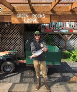 Petersburg Fishing Report - Kings Showing Up